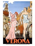 Verona Paper Doll Travel Print