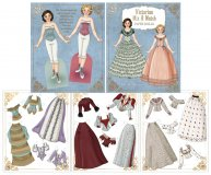 Victorian Mix & Match Paper Dolls