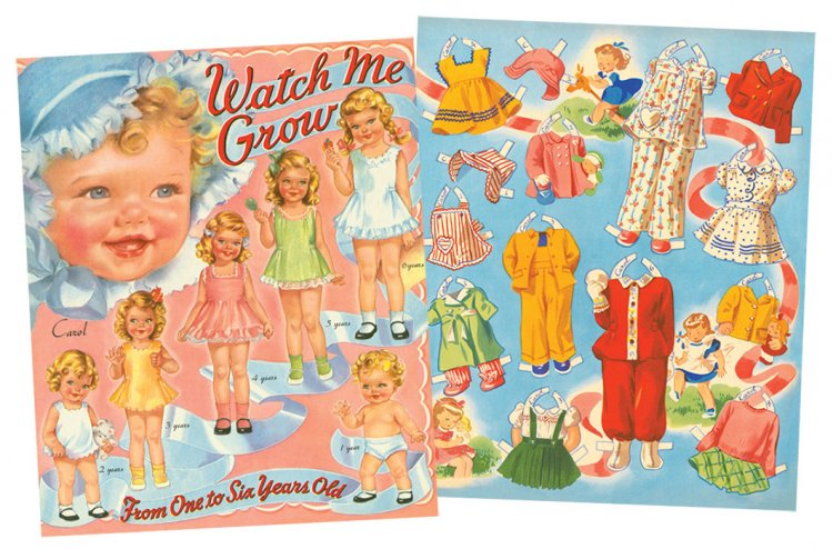 Watch Me Grow Paper Dolls - Click Image to Close