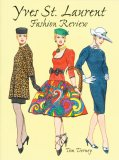 Yves St. Laurent Fashion Review Paper Dolls