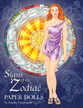 Signs of the Zodiac Paper Dolls