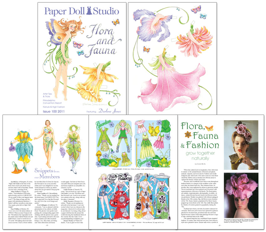 OPDAG - Paper Doll Studio Magazine issue 100 - Click Image to Close