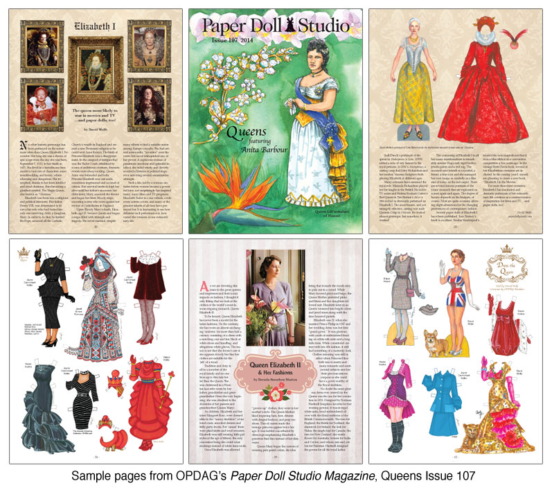 OPDAG - Paper Doll Studio Magazine issue 107