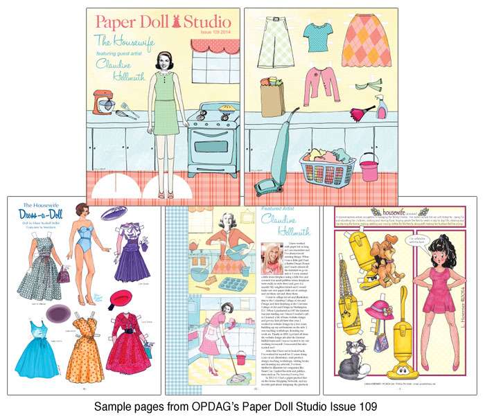 OPDAG - Paper Doll Studio Magazine issue 109 - Click Image to Close