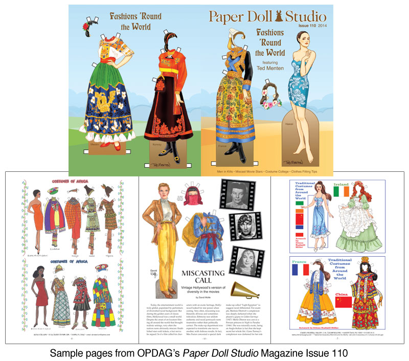 OPDAG - Paper Doll Studio Magazine Issue 110 - Click Image to Close