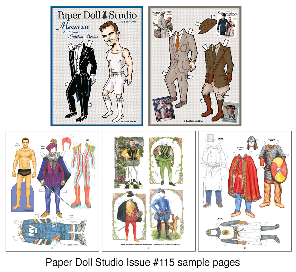 OPDAG - Paper Doll Studio Magazine Issue 115