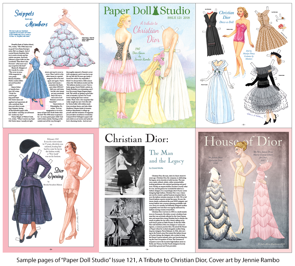 OPDAG - Paper Doll Studio Magazine Issue 121