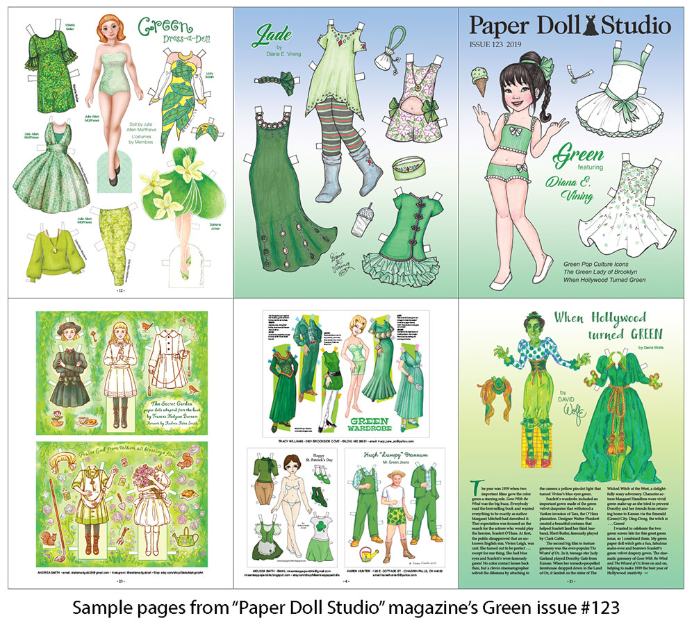 OPDAG - Paper Doll Studio Magazine Issue 123 - Click Image to Close