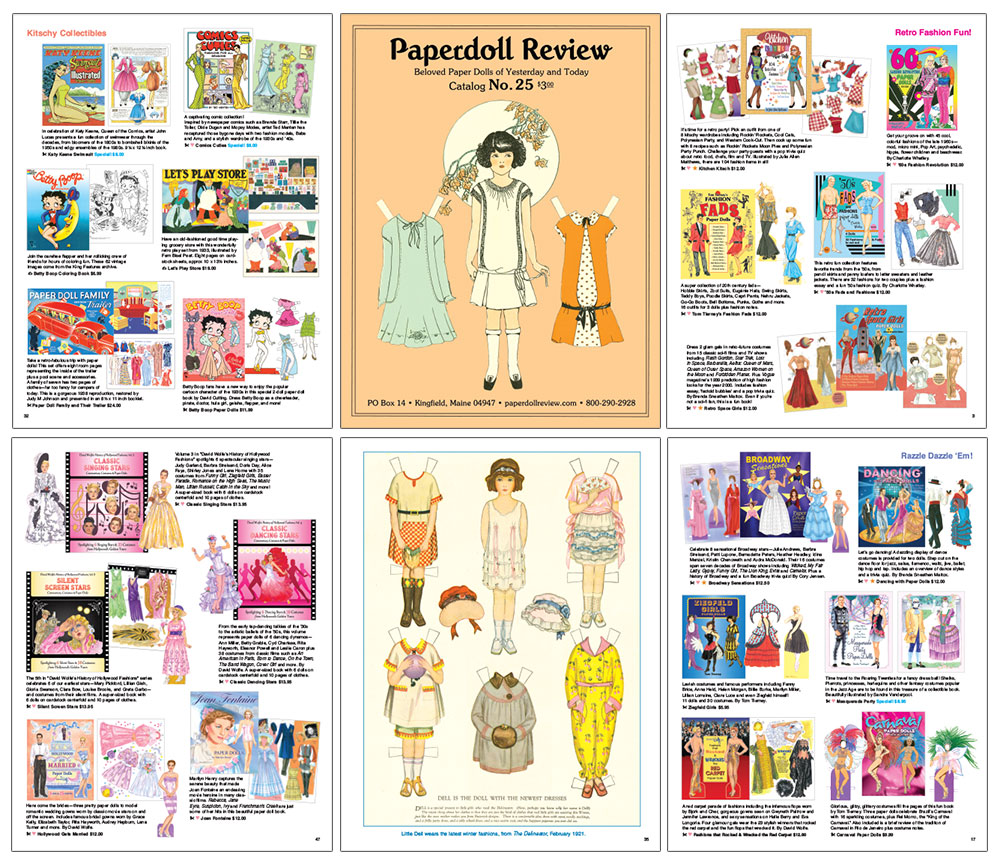 Paperdoll Review FULL COLOR Print Catalog - Click Image to Close