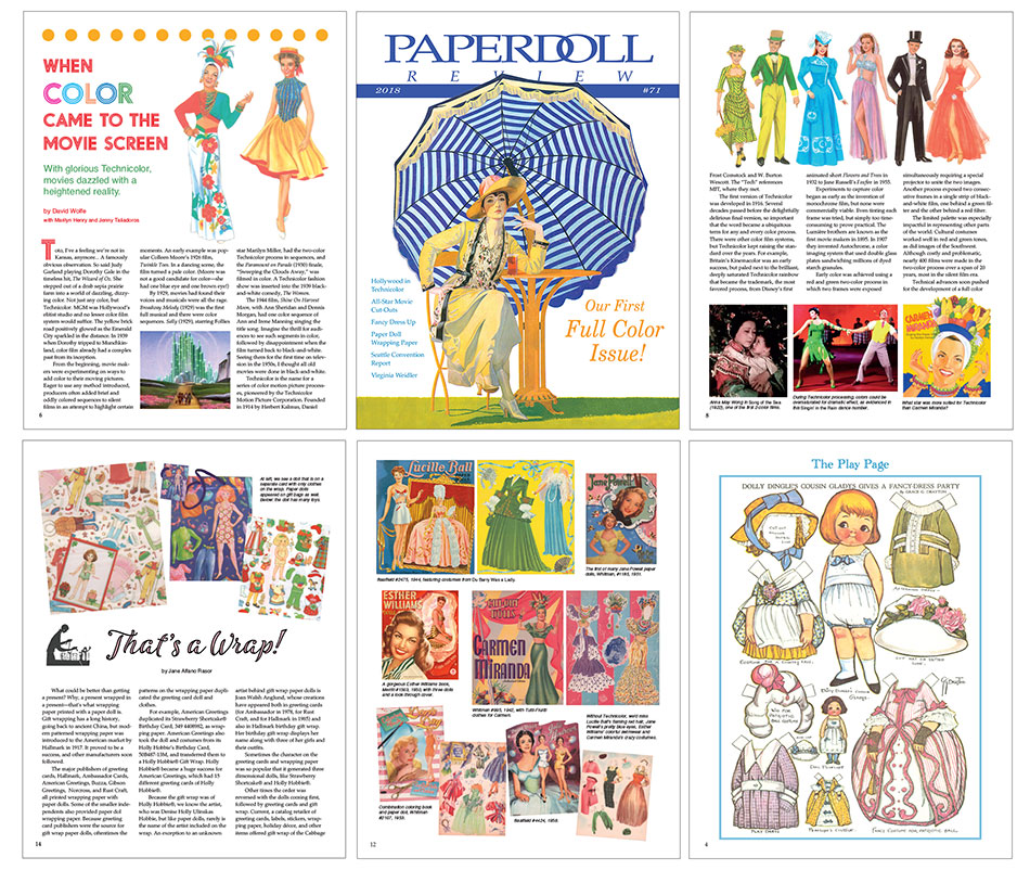 Paperdoll Review Magazine Issue 71