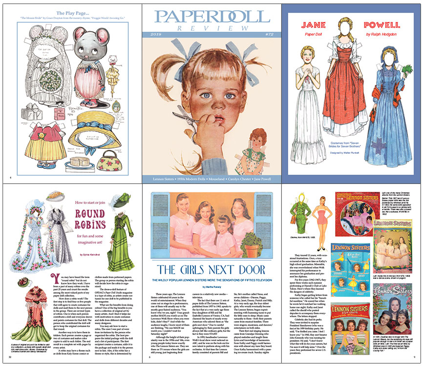 Paperdoll Review Magazine Issue 72