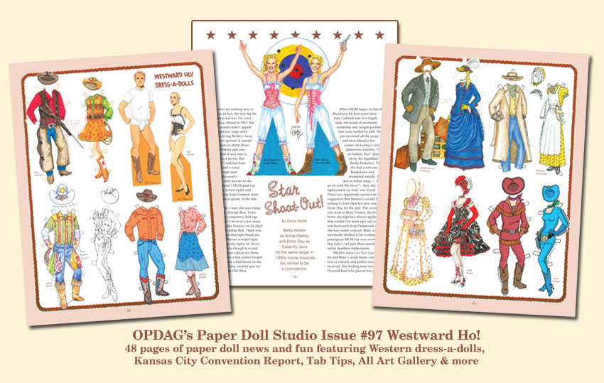 OPDAG - Paper Doll Studio Magazine issue 97