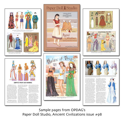 OPDAG - Paper Doll Studio Magazine issue 98