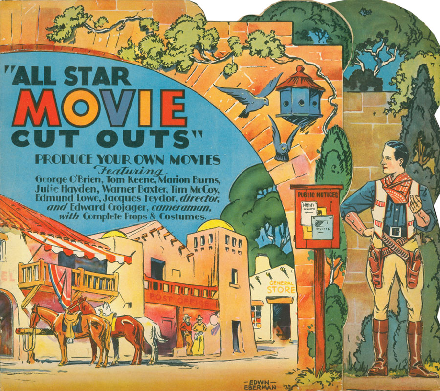 All Star Movie Cut Outs