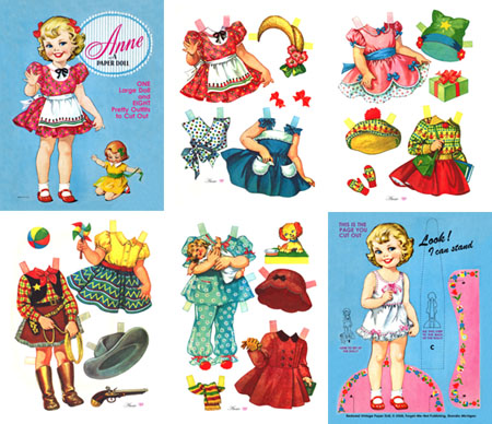Anne A Paper Doll - Click Image to Close