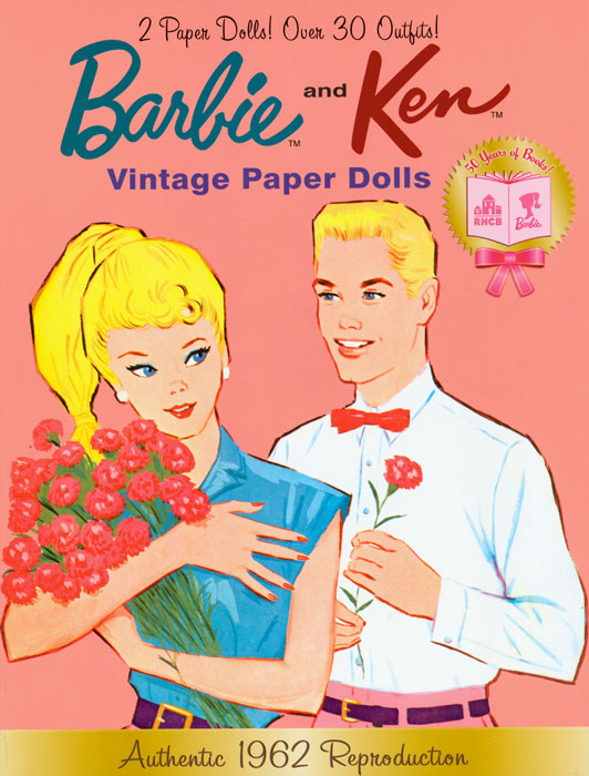 Barbie and Ken Vintage Paper Dolls