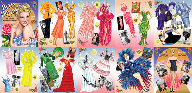Betty Hutton Paper Doll