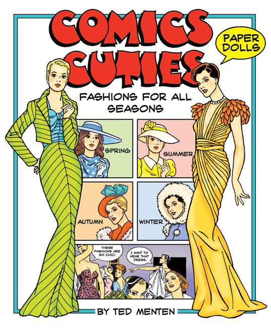 Comics Cuties Fashions for All Seasons Paper Dolls