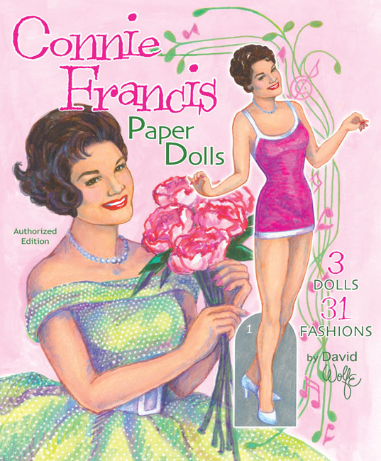Connie Francis Paper Dolls