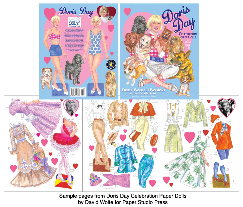 Doris Day Celebration Paper Dolls