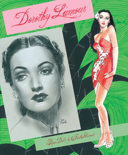 Dorothy Lamour Paper Dolls - Close out sale!