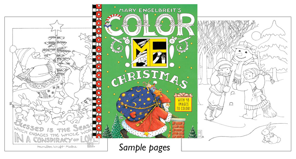 mary engelbreit coloring pages christmas - photo#27