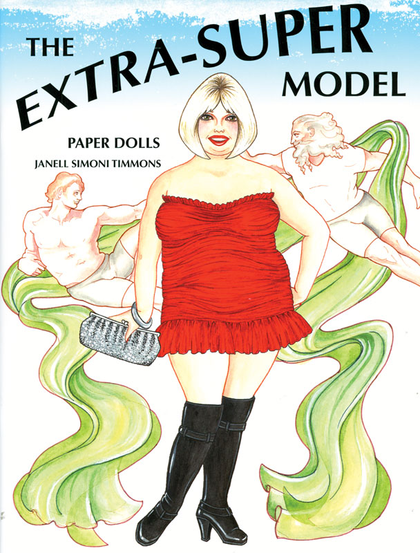 Extra-Super Model Paper Dolls