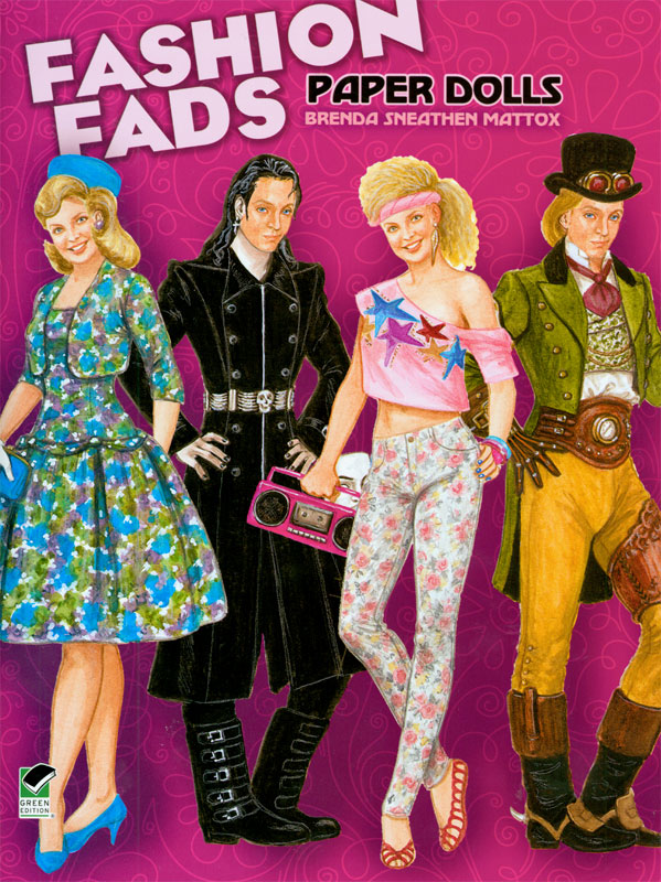 Fashion Fads Paper Dolls