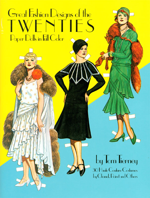 Great Fashion Designs of the Twenties - Click Image to Close