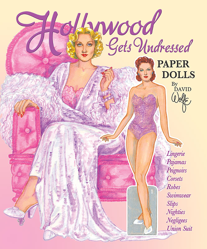 Hollywood Gets Undressed Paper Dolls