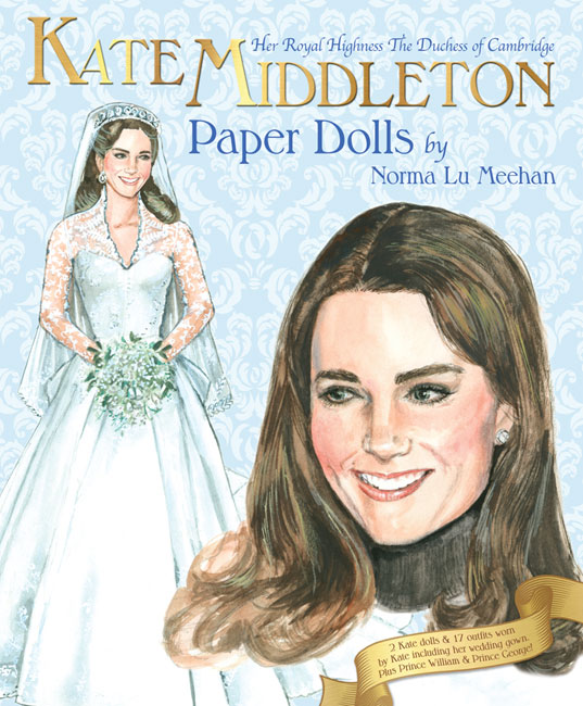 Kate Middleton Paper Dolls