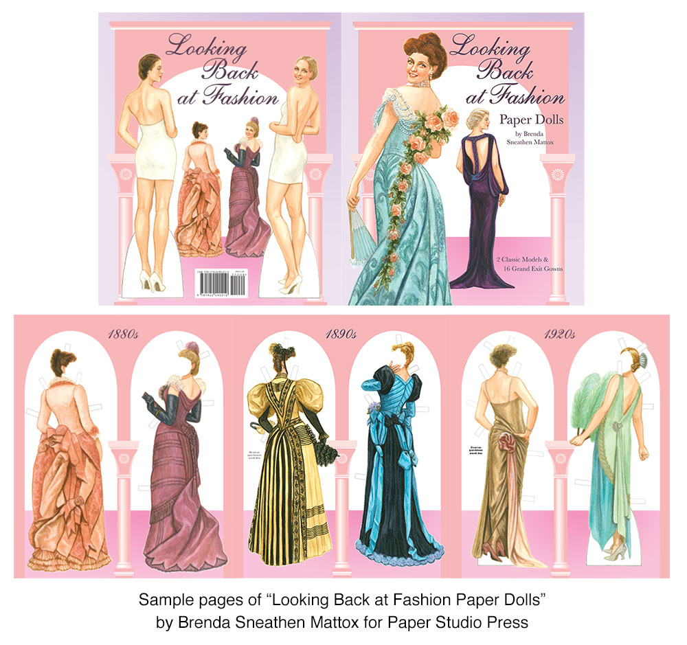 Looking Back at Fashion Paper Dolls