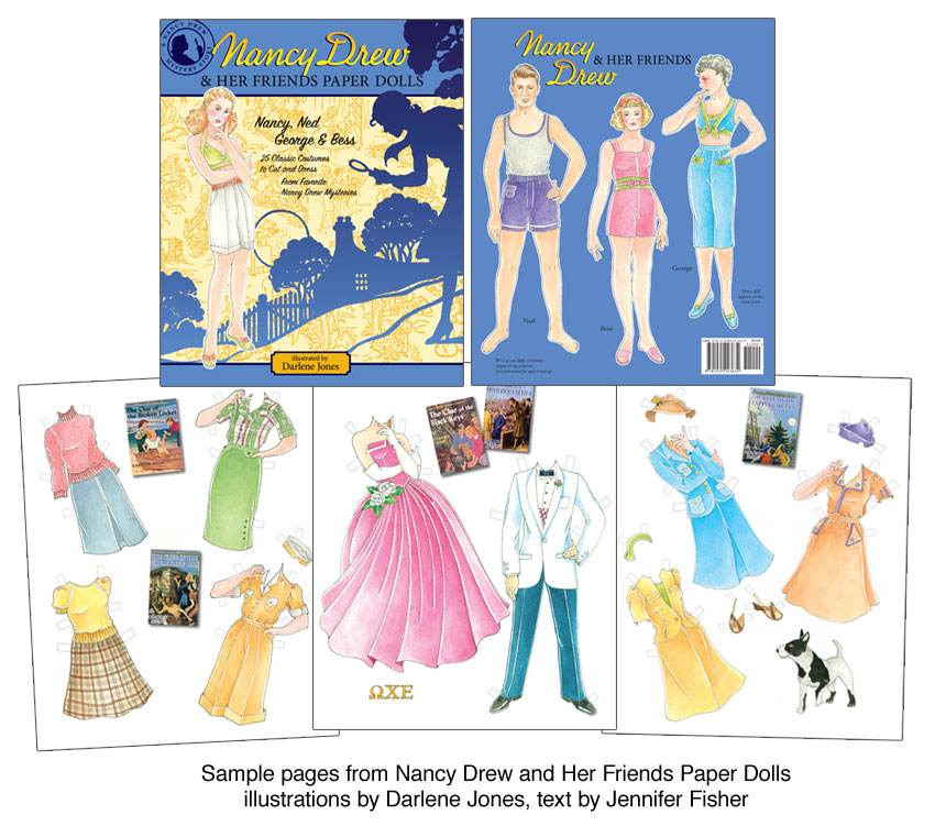 Nancy Drew And Her Friends Paper Dolls [Classic Mystery Characters