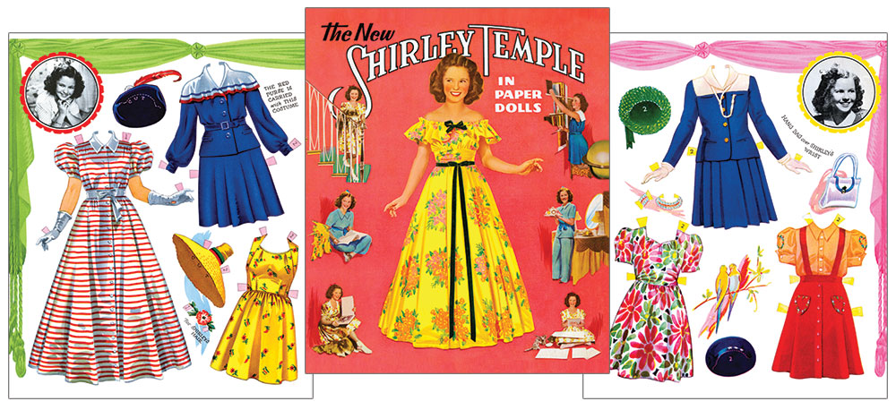 The New Shirley Paper Dolls