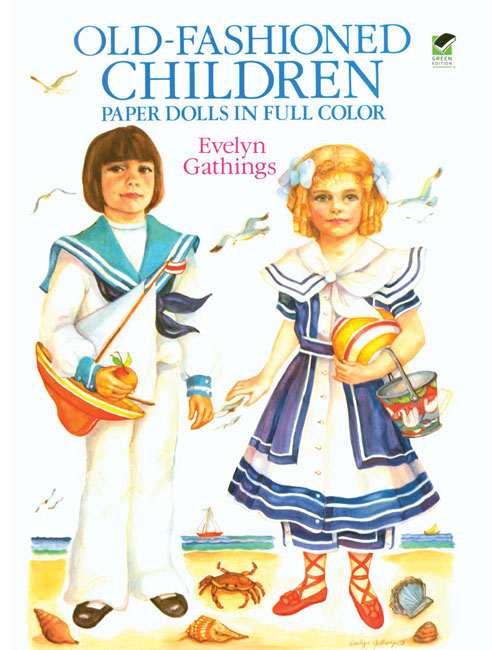 Old Fashioned Children Paper Dolls