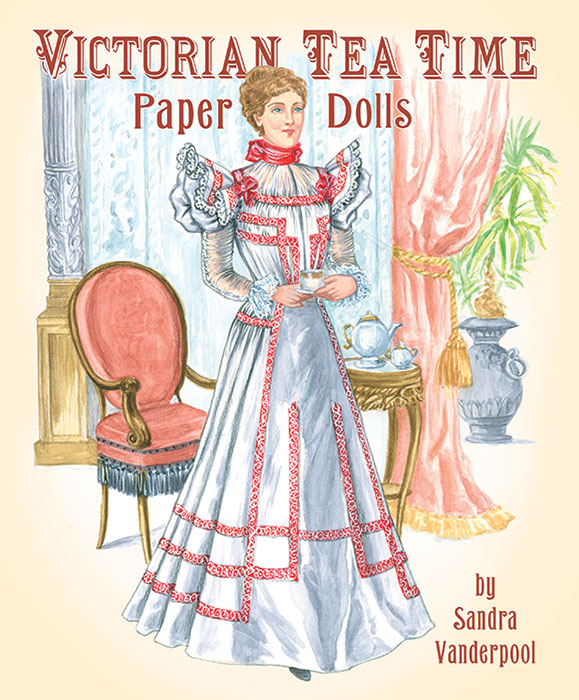 Victorian Tea Time Paper Dolls
