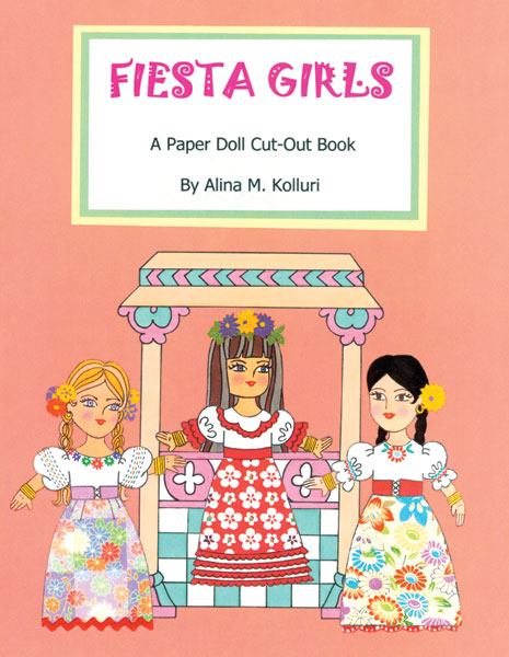 Fiesta Girls Paper Dolls