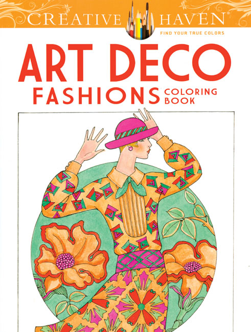 Art Deco Fashions Coloring Book