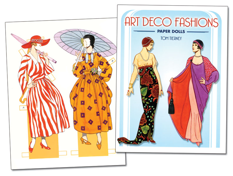Art Deco Fashions Paper Dolls
