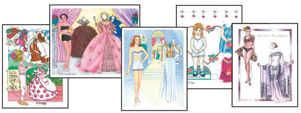 Paper Doll Artists Gallery - Click Image to Close