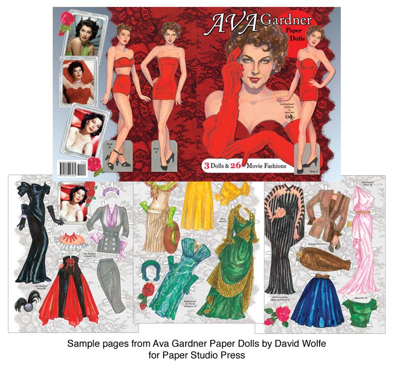 Ava Gardner Paper Dolls U0026 Film Fashions