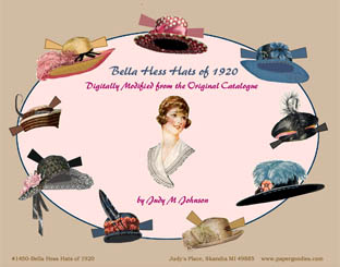 Bella Hess Hats of 1920
