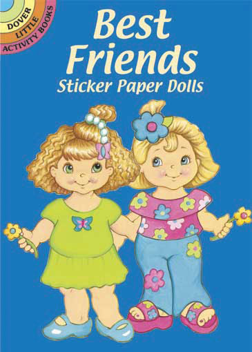 Best Friends Sticker Paper Doll