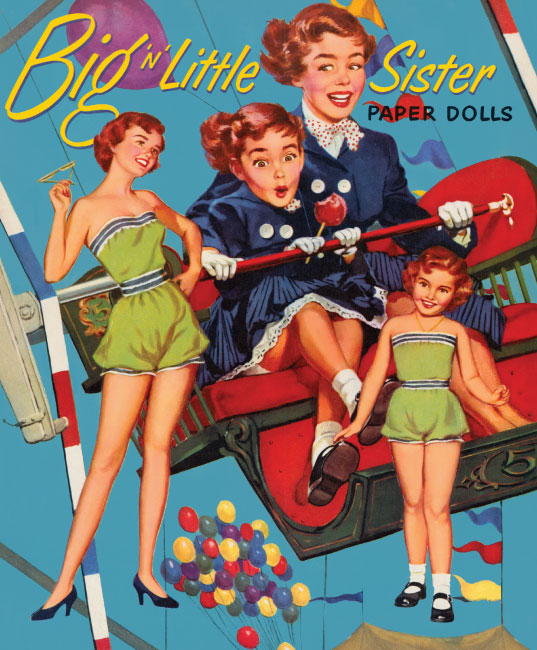 Big n Little Sister Paper Dolls