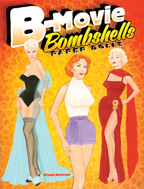 B-Movie Bombshells Paper Dolls