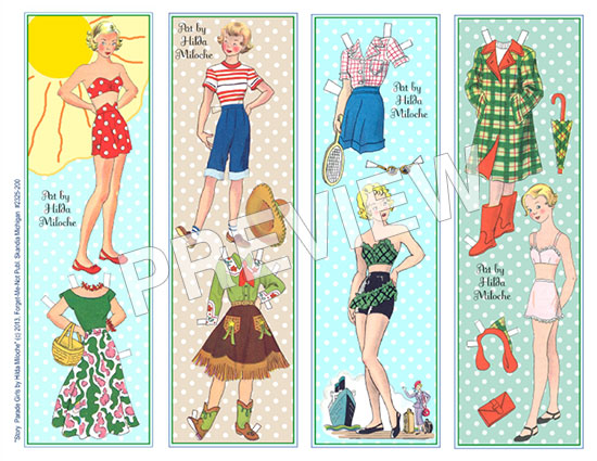 Hilda Miloche Bookmarks