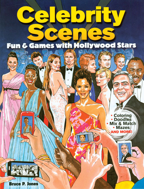 Celebrity Scenes Fun and Games Activity Book - Click Image to Close