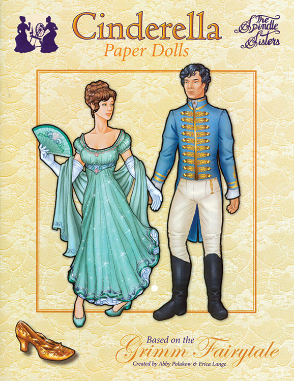 Cinderella Paper Dolls by the Spindle Sisters