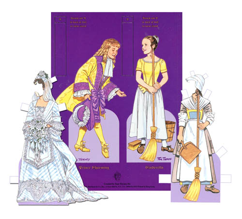 Cinderella Paper Doll by Tom Tierney