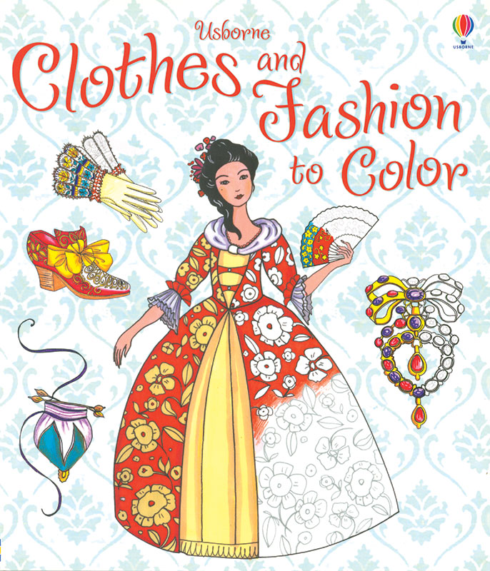 Clothes and Fashion to Color